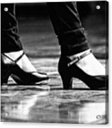 Tap Shoes Acrylic Print by Lauri Novak