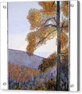 Tapestree Acrylic Print