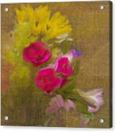 Tapestry Bouquet Acrylic Print