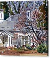 Tapp House Acrylic Print