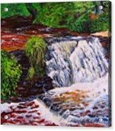Taqua Falls Acrylic Print