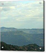 Tara Mountain West Serbia Landscape  Acrylic Print