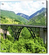Tara River, Montenegro Acrylic Print