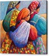 Tarahumara Women Acrylic Print