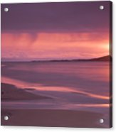 Taransay At Sunset Acrylic Print