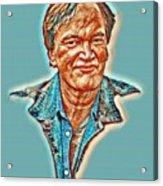 Tarantino Portrait Acrylic Print
