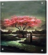 Tardis Blossom Acrylic Print