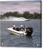 Taree Race Boats 2015 07 Acrylic Print