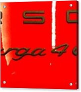 Targa Acrylic Print
