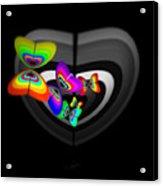 Target Heart Acrylic Print