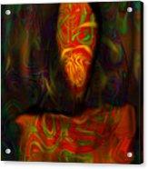 Tarot Candle Acrylic Print