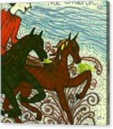 Tarot Of The Younger Self The Chariot Acrylic Print