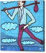 Tarot Of The Younger Self The Fool Acrylic Print