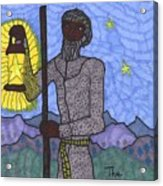 Tarot Of The Younger Self The Hermit Acrylic Print