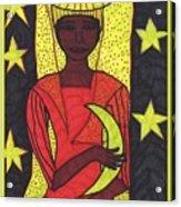 Tarot Of The Younger Self The High Priestess Acrylic Print