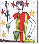 Tarot Of The Younger Self The Magician Acrylic Print