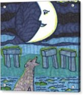 Tarot Of The Younger Self The Moon Acrylic Print