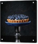 Tartlet With Blueberries Acrylic Print