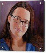 Taryn Snow Acrylic Print
