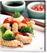 Taste Of China Acrylic Print