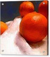 Tasting Citrus Acrylic Print
