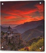 Tatev Monastery At Dawn Acrylic Print