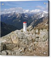 Tatra Mountains 1 Acrylic Print