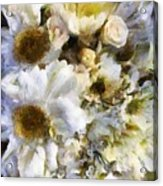 Tattered Bouquet Acrylic Print