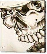 Tattoo Design Acrylic Print