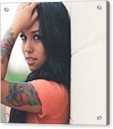 Tattoo Acrylic Print