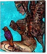 Tattoo Fairy Acrylic Print