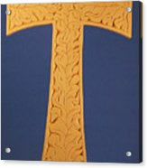 Tau Cross Acrylic Print
