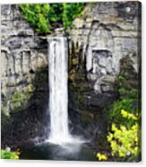 Taughannock Falls View From The Top Acrylic Print