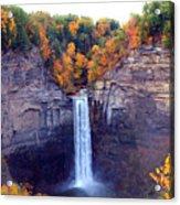 Taughannock Waterfalls In Autumn Acrylic Print
