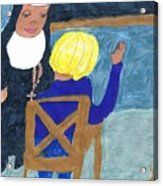 Taught By Nuns Acrylic Print