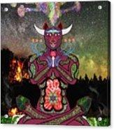 Taurus -psychedelic Zodiac Acrylic Print
