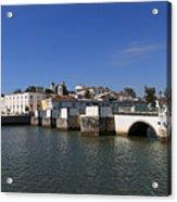 Tavira Ponte Romana And The River Acrylic Print