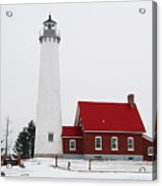 Tawas Point Lighthouse 2 Acrylic Print