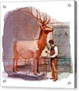 Taxidermist Acrylic Print