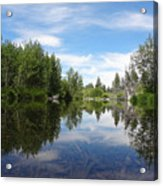 Taylor Creek Reflections Acrylic Print