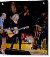 Taylor King And Group In Concert Acrylic Print