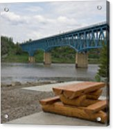 Taylor Peace River Bridge Acrylic Print