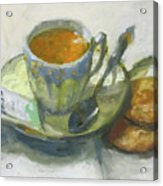 Tea And Biscuits Acrylic Print