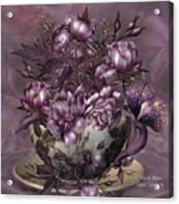 Tea And Roses Acrylic Print