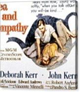Tea And Sympathy, John Kerr, Deborah Acrylic Print by Everett