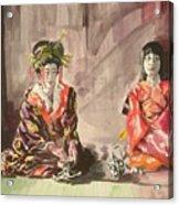 Tea Ceremony Acrylic Print