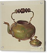 Tea Kettle Acrylic Print