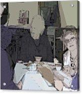 Tea Time At Sue's Acrylic Print