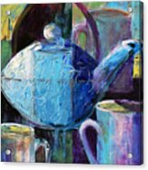 Tea With Friends Acrylic Print