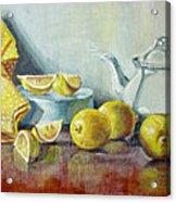 Tea With Lemon Acrylic Print